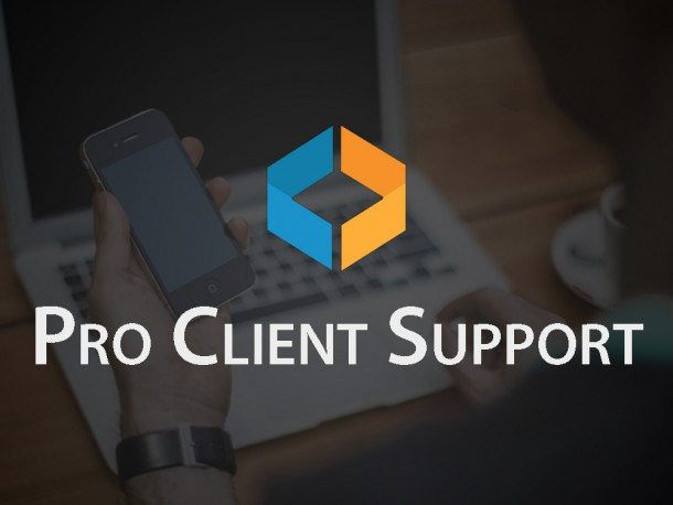 Pro Client Support