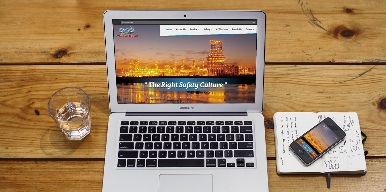 A beautiful custom website, for a large distributing company.